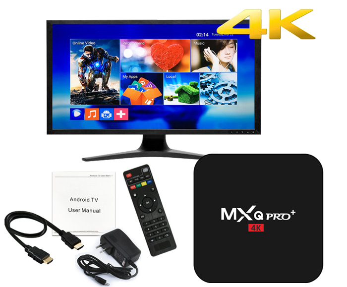 33MXQ Pro+ TV Box