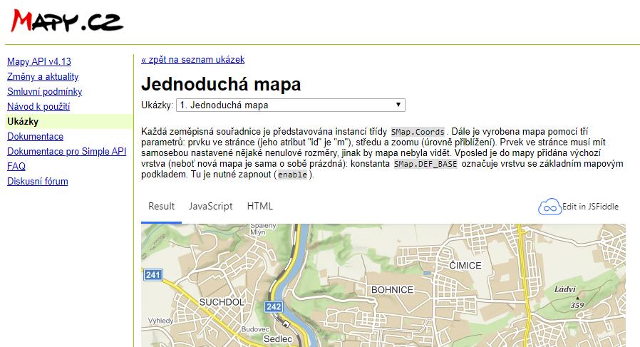 33Doumentace Seznam Mapy API