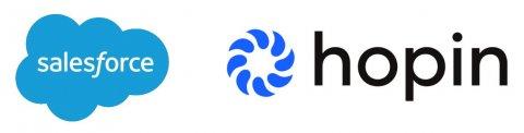 33Salesforce a Hopin logo