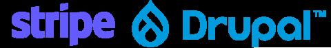 33Stripe a Drupal logo