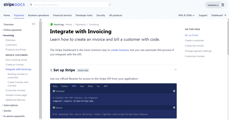 33Integrate with Invoicing